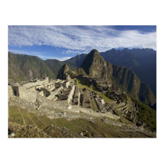 Machu Picchu, UNESCO World Heritage Site, Aguas Postcard