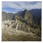 Machu Picchu, UNESCO World Heritage Site, Aguas Tile