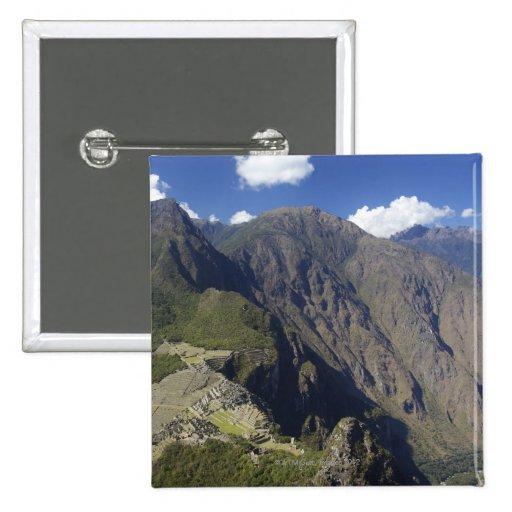 Machu Picchu visto de Huayna Picchu, la UNESCO Pins