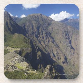 Machu Picchu visto de Huayna Picchu, la UNESCO Posavasos