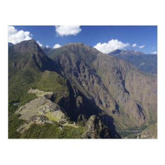 Machu Picchu visto de Huayna Picchu, la UNESCO Postal