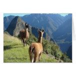 Machu Pichu Notecard Tarjeta Pequeña