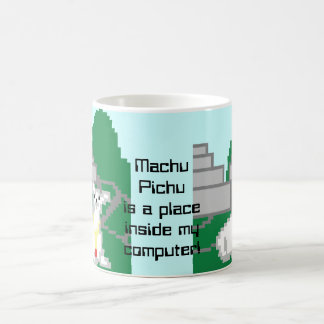 Machu Pixels Coffee Mug