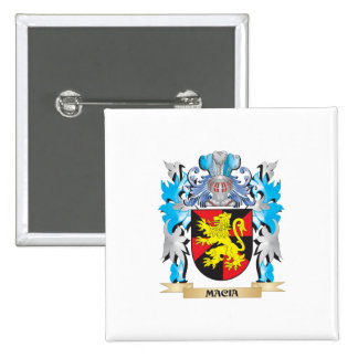 Macia Coat of Arms - Family Crest Buttons