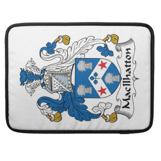 MacIlhatton Family Crest Sleeve For MacBooks