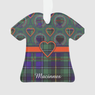 Macinnes clan Plaid Scottish tartan