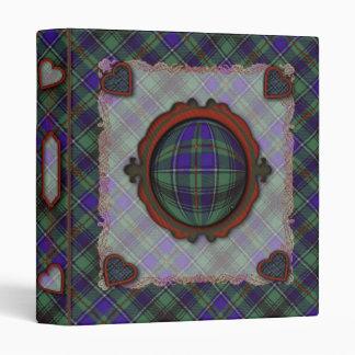 Macinnes Scottish clan tartan Binder