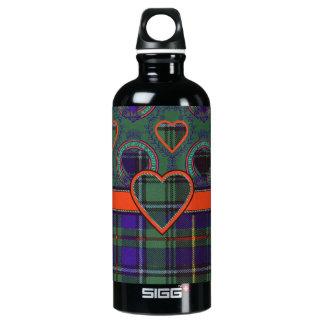 Macinnes Scottish tartan Aluminum Water Bottle