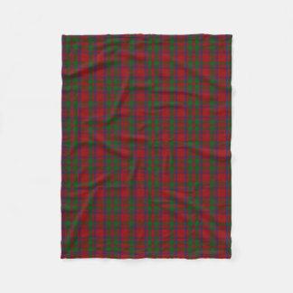 MacIntosh Clan Tartan Plaid Fleece Blanket