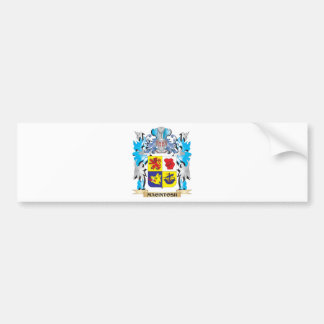 Macintosh Coat of Arms - Family Crest Bumper Stickers