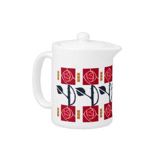 MacIntosh Red Rose Teapot
