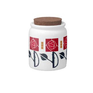 MacIntosh Rose Candy Dish
