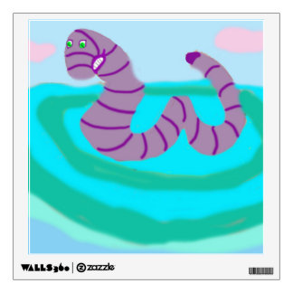 MacInTosh The SeaWorm Wall Sticker