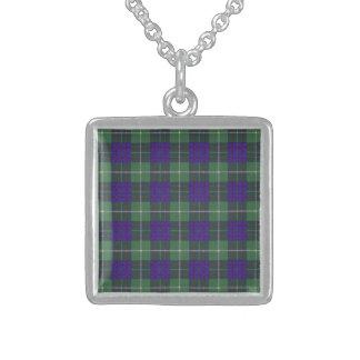 Macintyre clan Plaid Scottish tartan Custom Necklace
