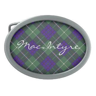 MacIntyre Scottish Tartan Belt Buckle