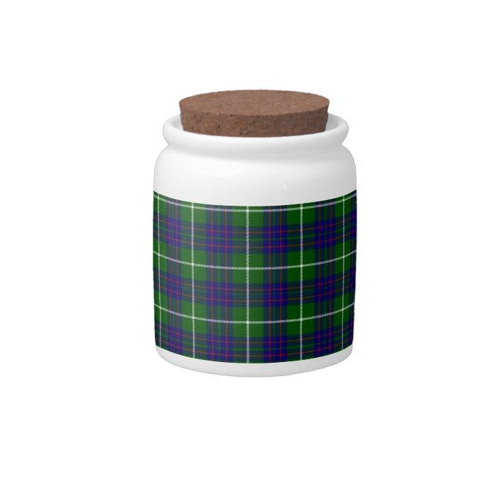 MacIntyre Tartan Candy Jars