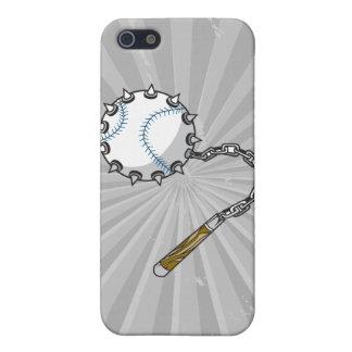 macis del béisbol iPhone 5 carcasa