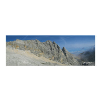 Macizo de la montaña de Partenkirchen Dreitorspitz Lona Envuelta Para Galerias