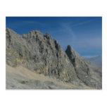 Macizo de la montaña de Partenkirchen Dreitorspitz Postal