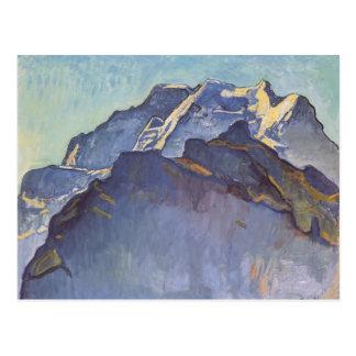Macizo y Schwarzmonch de Fernando Hodler- Jungfrau Tarjetas Postales
