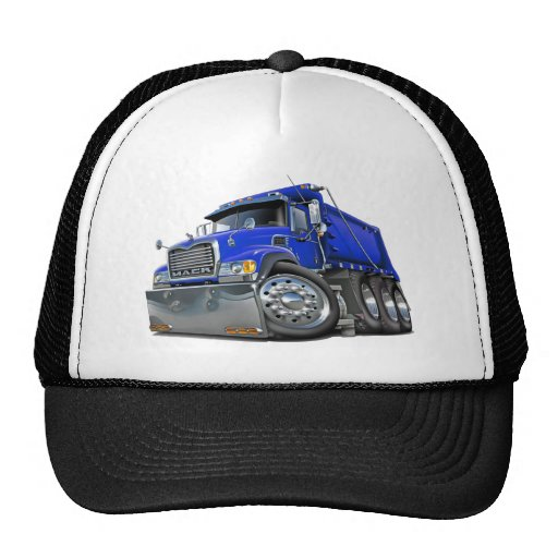 Mack Dump Truck Blue Hat
