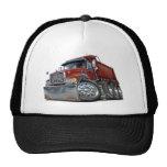 Mack Dump Truck Maroon Trucker Hats