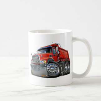 Mack Dump Truck Red Coffee Mug