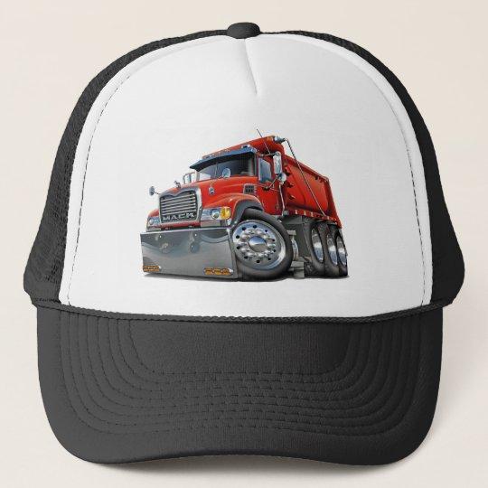 Mack Dump Truck Red Trucker Hat