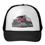 Mack Dump Truck Red-White Hat