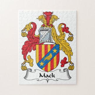 Mack Family Crest Jigsaw Puzzle