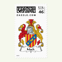 Mack Family Crest Stamps
