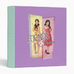 Mack & Lela - Friends Forever 2 3 Ring Binder