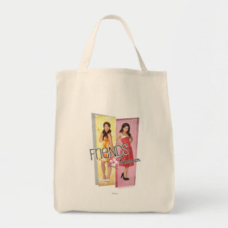 Mack & Lela - Friends Forever Grocery Tote Bag
