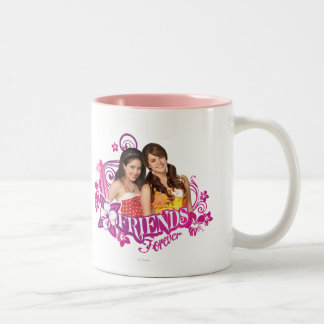 Mack & Lela - Friends Forever Two-Tone Coffee Mug
