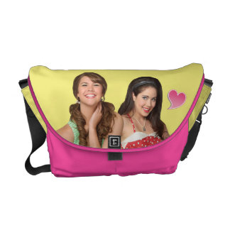 Mack & Lela - My Heart is at the Beach Courier Bag