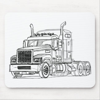 Mack Pinnacle Rawhide 2012 Mouse Pad