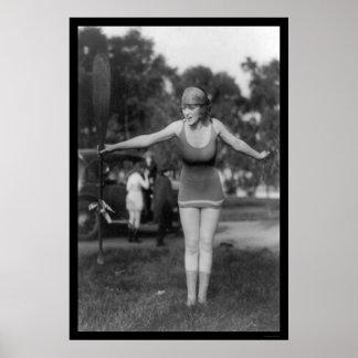 Mack Sennett Bathing Beauty 1915 Print