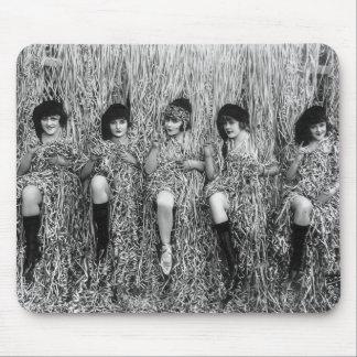 Mack Sennett Girls, 1918 Mousepad