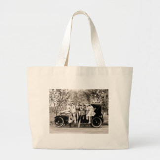 Mack Sennett Girls 1918 Vintage Beauties Large Tote Bag