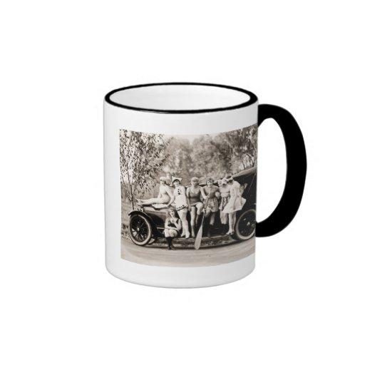 Mack Sennett Girls 1918 Vintage Beauties Coffee Mugs