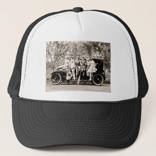 Mack Sennett Girls 1918 Vintage Beauties Trucker Hat