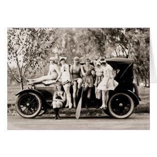 Mack Sennett Girls 1918 vintage Card