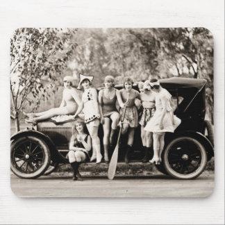 Mack Sennett Girls 1918 vintage Mouse Pad