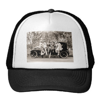 Mack Sennett Girls Bathing Beauty Queens Vintage Trucker Hat