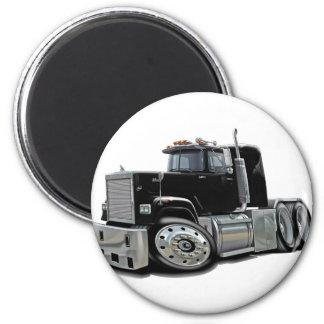 Mack Superliner Black Truck Magnet