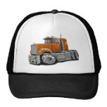 Mack Superliner Orange Truck Mesh Hat
