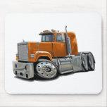 Mack Superliner Orange Truck Mouse Pad