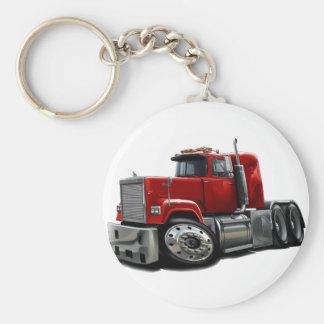 Mack Superliner Red Truck Key Chains