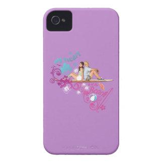 Mack y Brady - mi corazón está en la playa Case-Mate iPhone 4 Carcasas