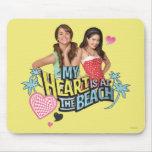 Mack y Lela - mi corazón está en la playa 2 Tapetes De Ratón